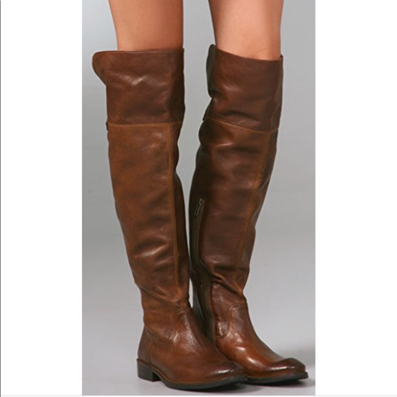 50150b65e13 Frye Tall Brown Boots SZ 6
